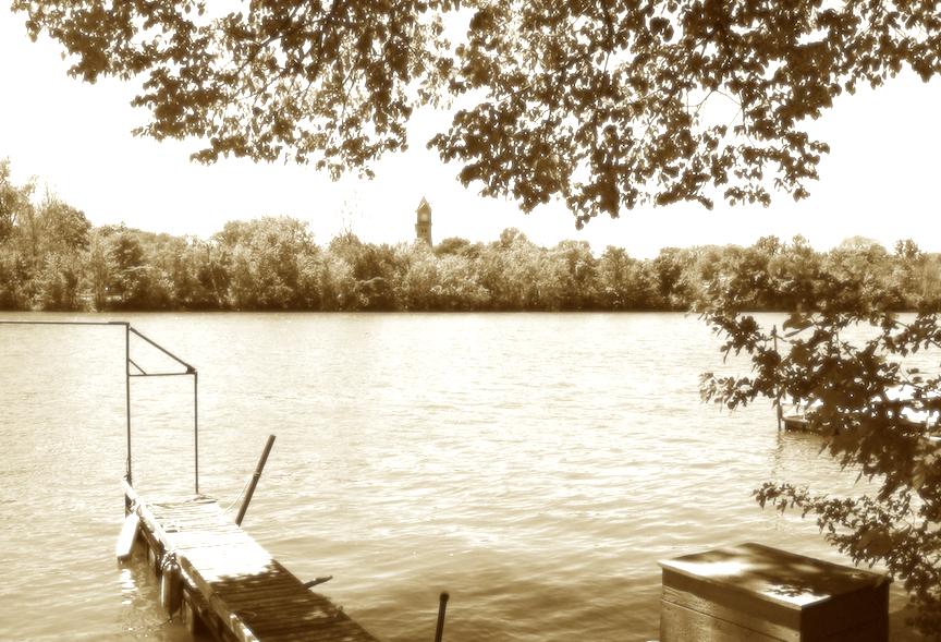 Kakakee River sepia